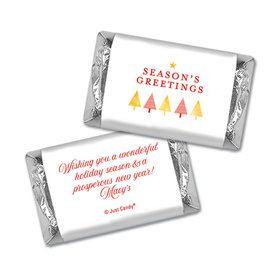 Christmas Personalized Hershey's Miniatures Wrappers Christmas Festive Greetings