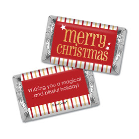 Christmas Personalized Hershey's Miniatures Shimmering Christmas