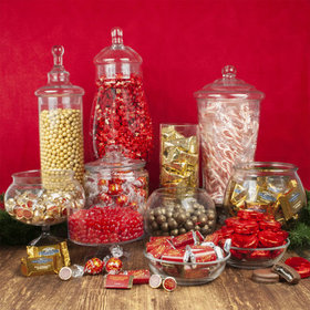 Personalized Christmas Premium Candy Buffet
