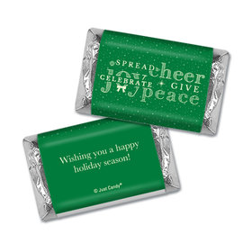 Christmas Personalized Hershey's Miniatures Wrappers Christmas Spread Cheer