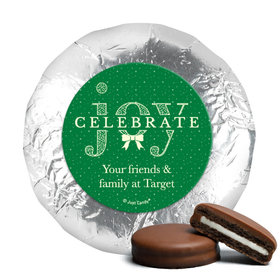 Personalized Christmas Spread Cheer Chocolate Covered Oreos