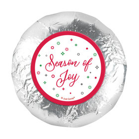 "Christmas Season of Joy 1.25"" Stickers (48 Stickers)"