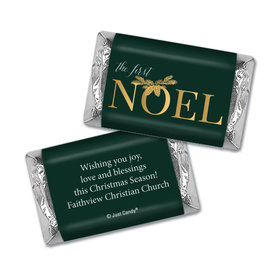 Christmas Personalized Hershey's Miniatures Wrappers Christmas First Noel