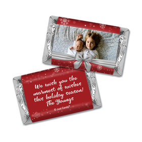 Christmas Personalized Hershey's Miniatures Wrappers Christmas Welcoming Joy