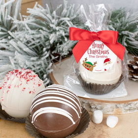 Personalized Christmas Hot Cocoa Bomb Winter Buddies