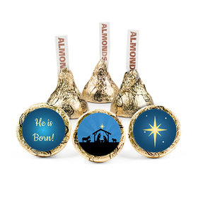 Personalized Christmas Holy Night Hershey's Kisses (50 pack)