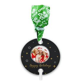 Personalized Christmas Once Upon a Holiday Dum Dums with Gift Tag (75 pops)