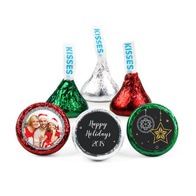 Personalized Christmas Once Upon a Holiday Hershey's Kisses (50 pack)