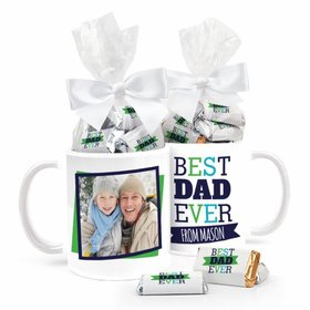 Personalized Father's Day 11oz Mug with approx. 24 Wrapped Hershey's Miniatures