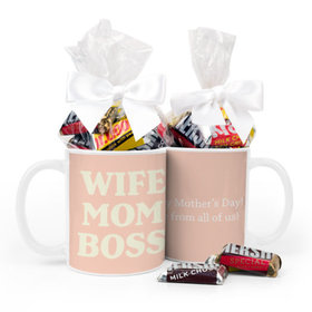 Mother's Day Wife Mom Boss 11oz Mug Hershey's Miniatures