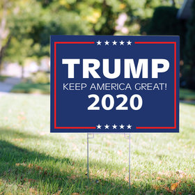 Yard Sign - Trump - Keep America Great 2020