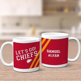 Personalized Let's Go! Chiefs 11oz Mug Empty