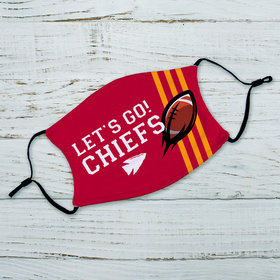 Let's Go! Chiefs Adult Face Mask