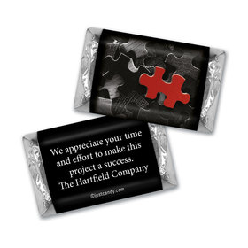 Business Thank You Personalized Hershey's Miniatures Puzzle Key Piece