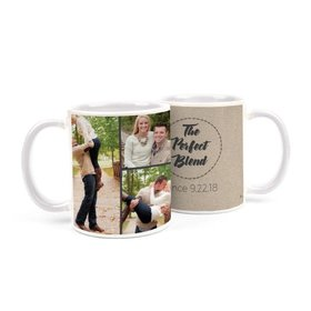 Personalized Wedding The Perfect Blend 11oz Mug