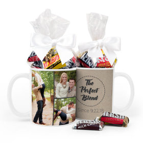 Personalized Wedding The Perfect Blend 11oz Mug with Hershey's Miniatures