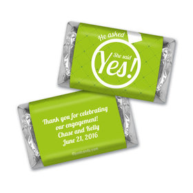 Engagement Party Favor Personalized Hershey's Miniatures She Said Yes! Ring