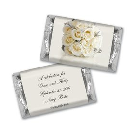 Wedding Rehearsal Dinner Personalized Hershey's Miniatures White Bouquet