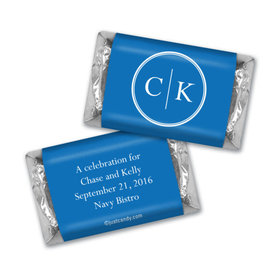 Rehearsal Dinner Personalized Hershey's Miniatures Monograms