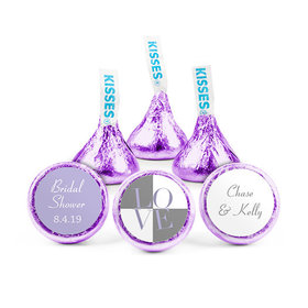 Personalized Bridal Shower Love Hershey's Kisses (50 pack)