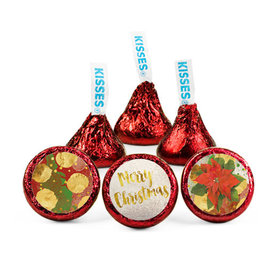 Christmas Holly Hershey's Kisses (50 pack)
