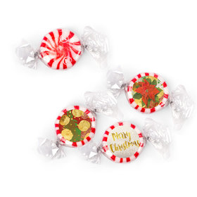 Personalized Christmas Holly Starlight Mints (405 Pack)