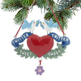 Twitter Bird Ornament Christmas Ornament