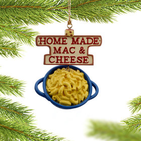 Personalized Mac & Cheese Christmas Ornament