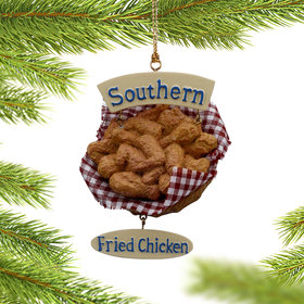 Personalized Fried Chicken Christmas Ornament