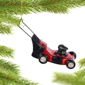 Personalized Lawn Mower Christmas Ornament