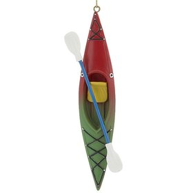 Personalized Kayak Christmas Ornament
