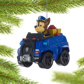 Personalized Paw Patrol Truck Chase Christmas Ornament