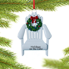Personalized Adirondack Chair Christmas Ornament