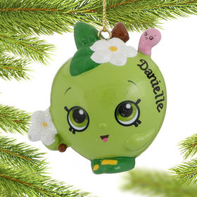 Personalized Shopkins Apple Blossom Christmas Ornament