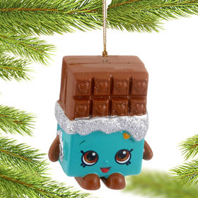 Shopkins Cheeky Chocolate Christmas Ornament