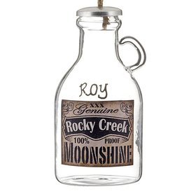 Personalized Rocky Creek Moonshine Christmas Ornament