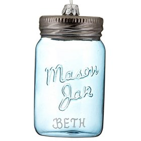 Personalized Mason Jar Christmas Ornament