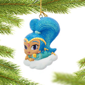 Personalized Shimmer and Shine (Shine) Christmas Ornament