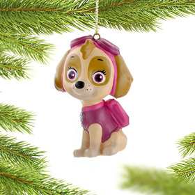 Personalized Paw Patrol Character (Skye) Christmas Ornament