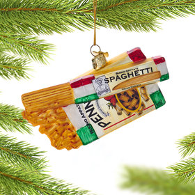 Personalized Pasta Boxes Christmas Ornament