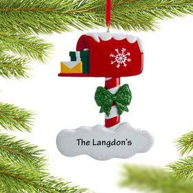 Personalized Mailbox Christmas Ornament