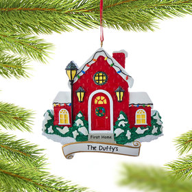 Personalized First Home Christmas Ornament