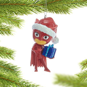 Personalized PJ Masks - Owlette Christmas Ornament
