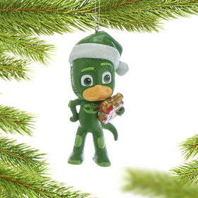 Personalized PJ Masks - Gekko Christmas Ornament