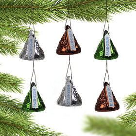Hershey Mini Kisses Christmas Ornament