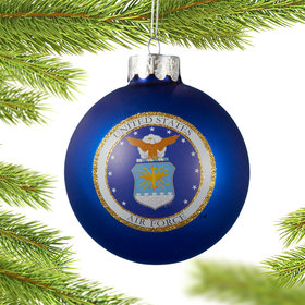 Personalized U.S. Air Force Christmas Ornament