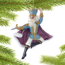 Personalized Nutcracker Prince Christmas Ornament