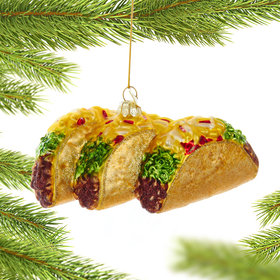 Taco Christmas Ornament