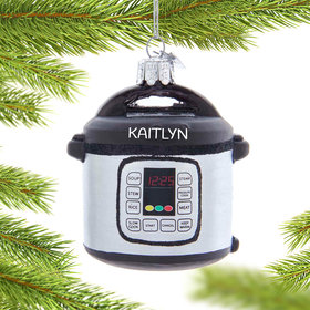 Personalized Instant Pot Christmas Ornament