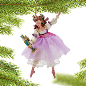 Personalized Clara Nutcracker Christmas Ornament